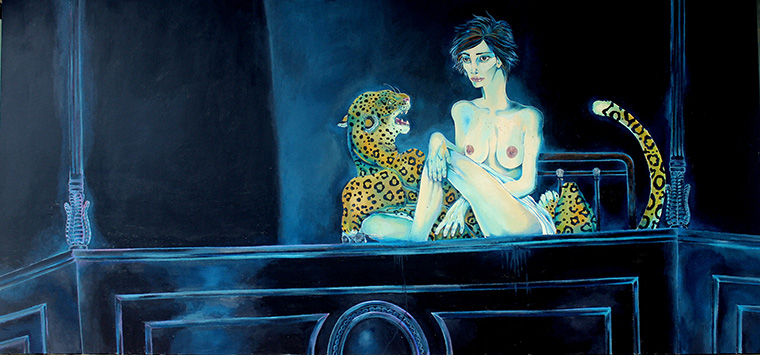 LADY WITH THE PANTHER