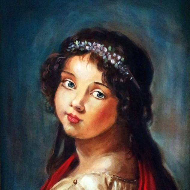 Portrait of Julie LeBrun Master Copy
