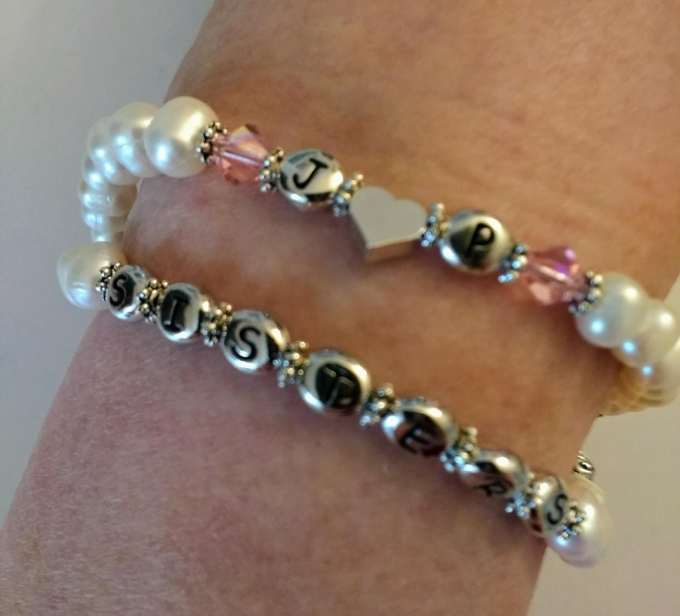 Sisters custom bracelet