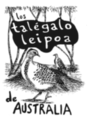 Este es un fanzine de ciencia sobre los talegalo leipoa Leipoa ocellatade Australia un ave megapodidae