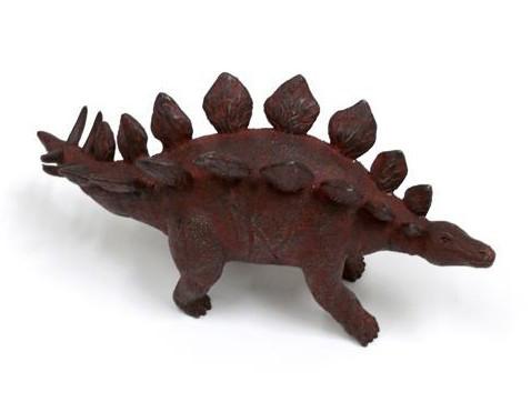 Estegosaurio, bronce