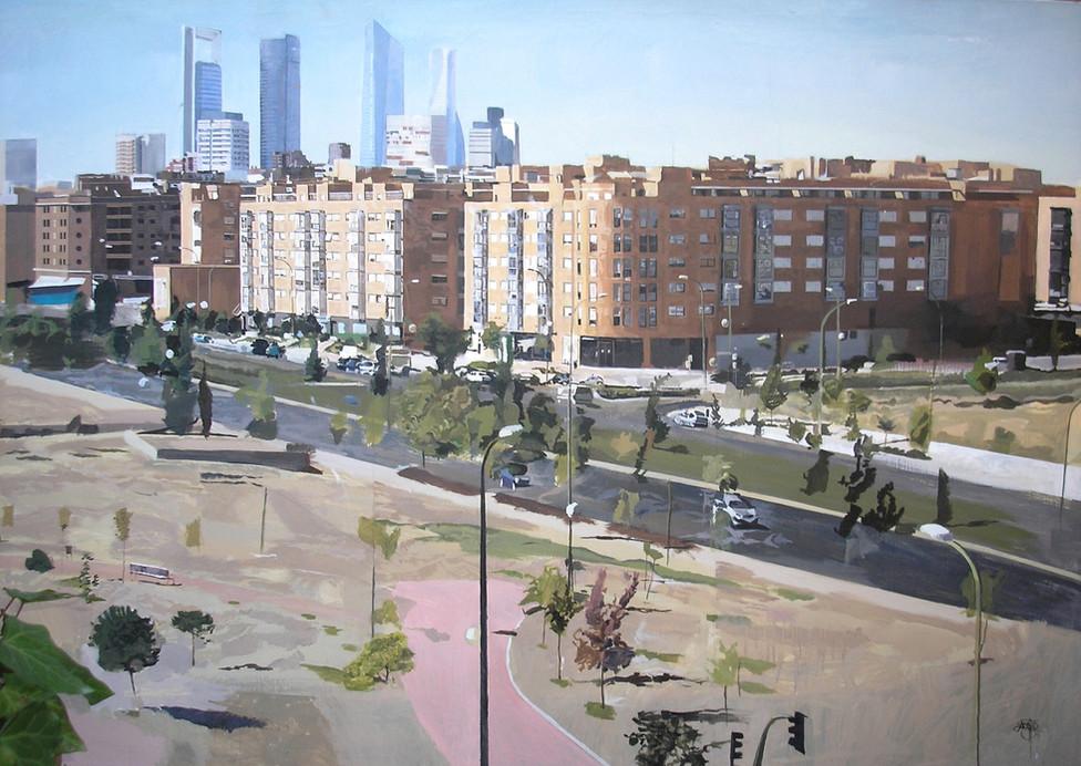 Sanchinarro, 2012, oil on canvas, 130 x 200 cm