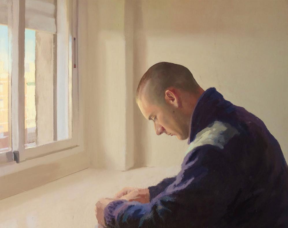 Mikel, 2008, óleo sobre tela, 81 x 100 cm
