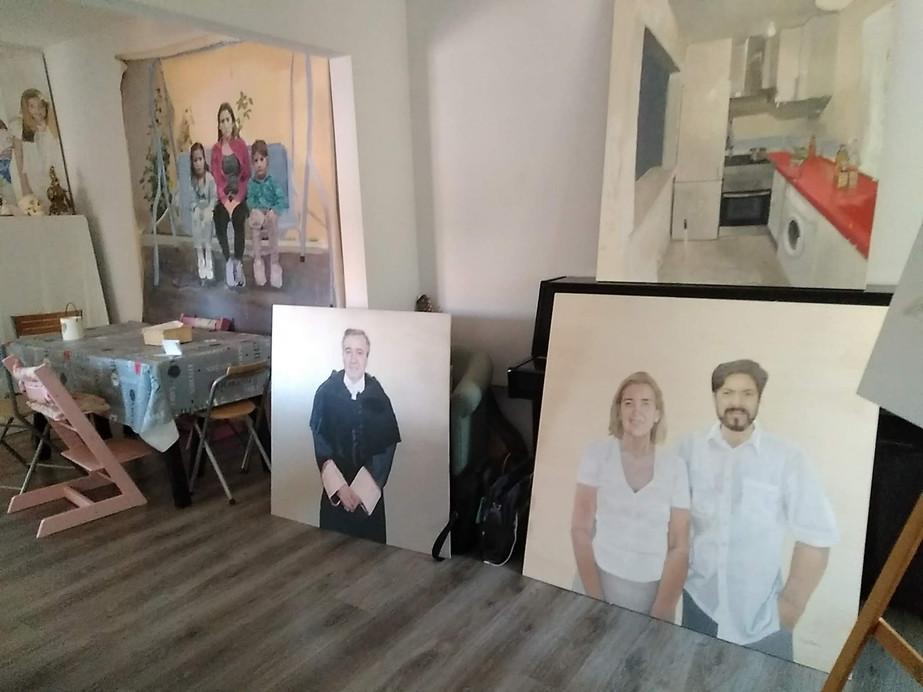 Jorge's studio