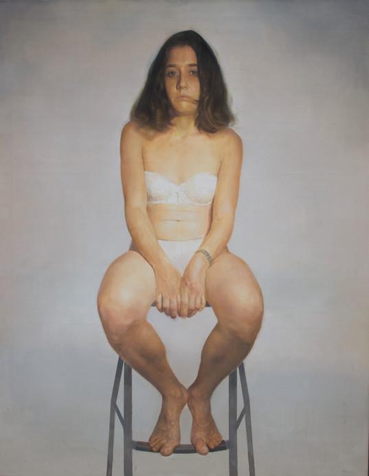 Natalia, 2015, oil on canvas, 146 x 114 cm
