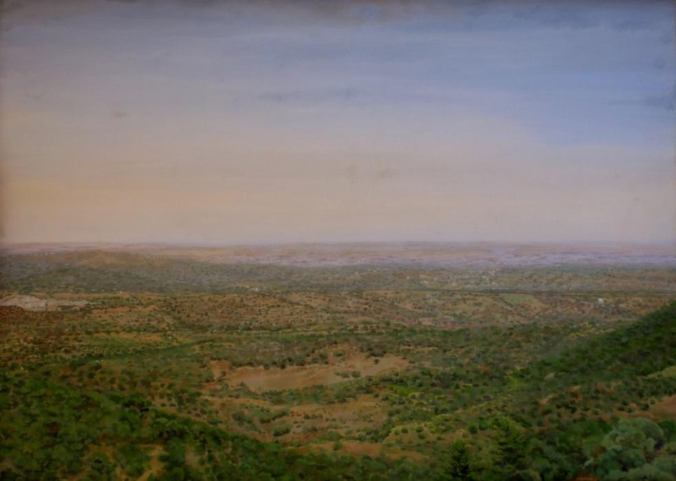Pablo Carnero, Valle del Batán, óleo sobre lienzo stabla, 102x142cm