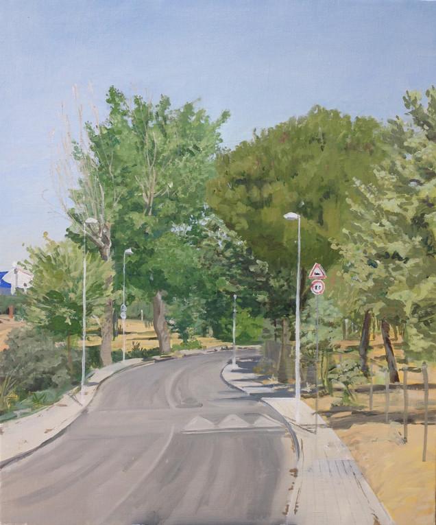 Villanueva de la Cañada, 2016, óleo sobre lienzo