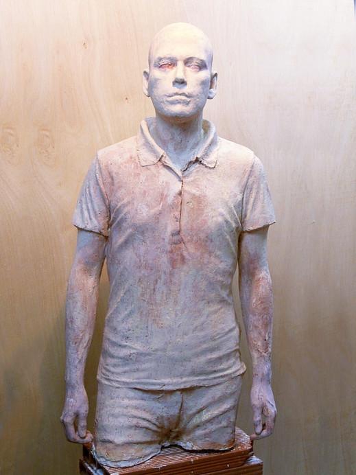 Iván, 2015, resin, 120 x 40 x 30 cm