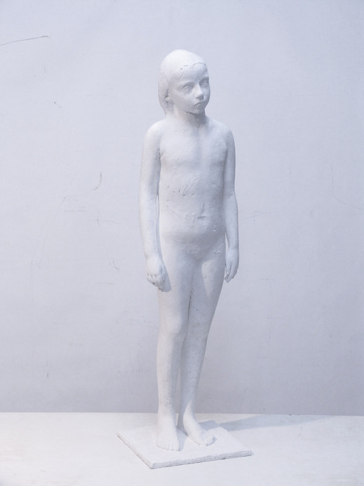 Desnudo I, 2006, bronze, 80 x 25 x 25 cm