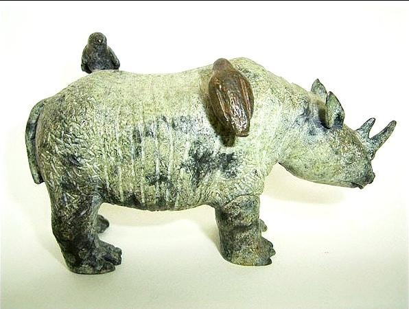 Rinoceronte, bronce