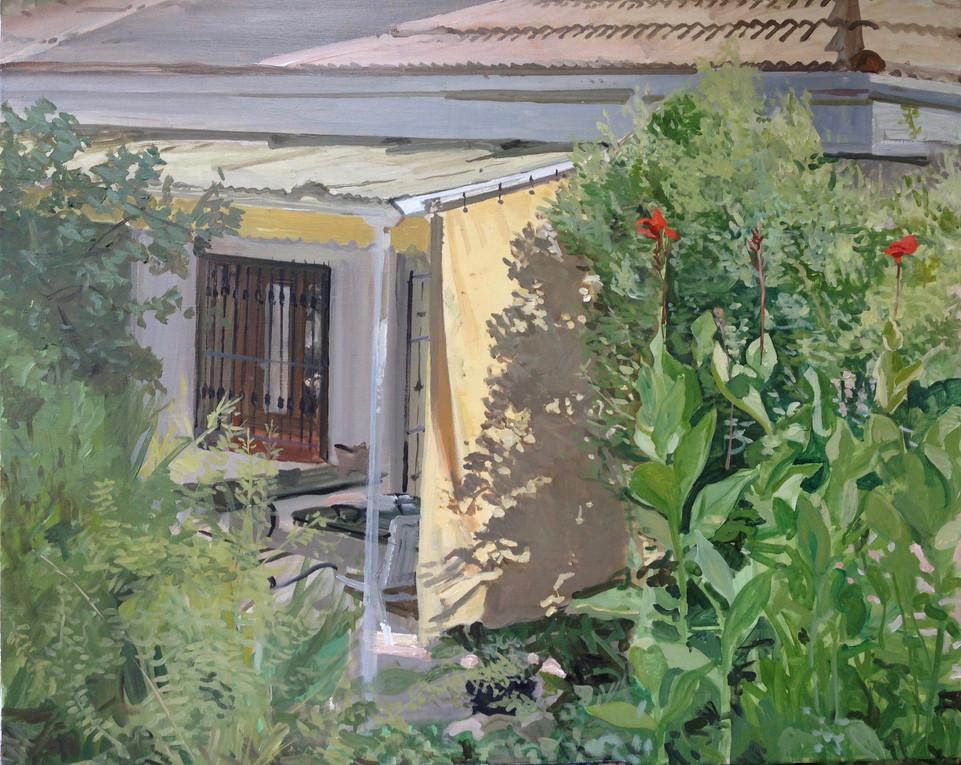Villafranca, 2018, óleo sobre lienzo, 65 x 81 cm