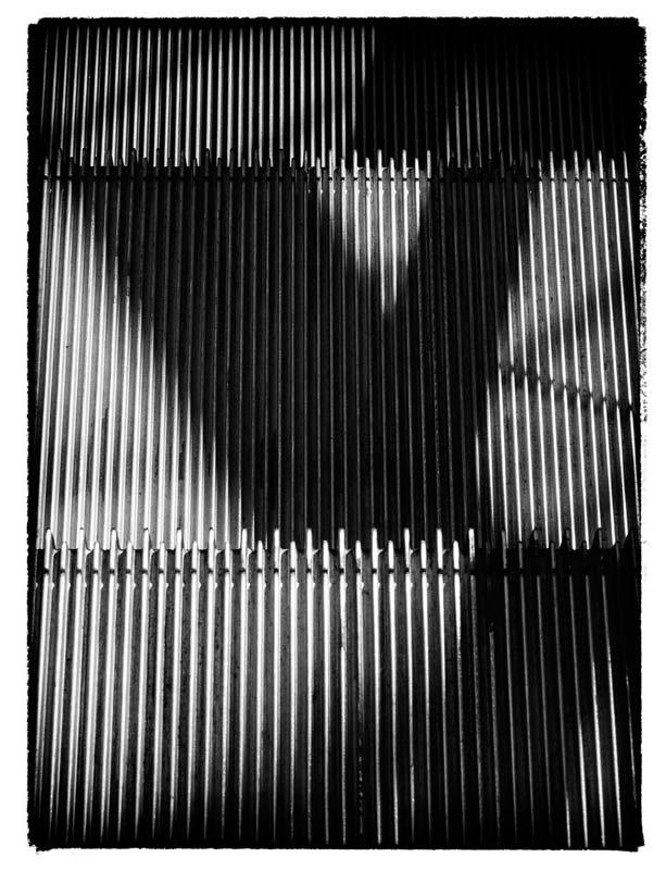 Shadows on an Escalator