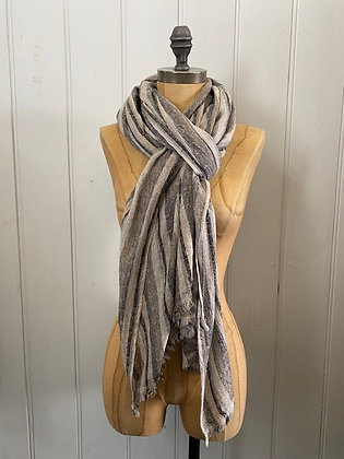 Small Stripe Large Scarf