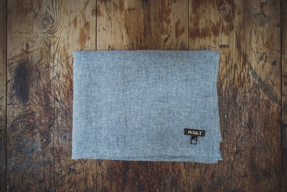 Large Taupe Cashmere Scarf