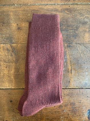 Maroon Socks