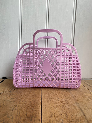 Retro Jelly Basket Lilac
