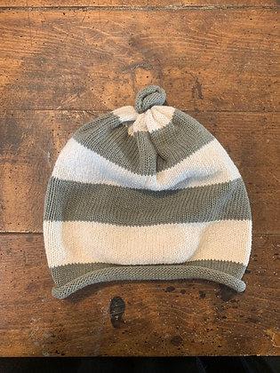 Sage and Cream Hat