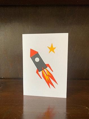 Small Rocket Card