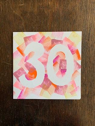 Colourful 30