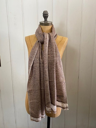 Brown Hash Scarf