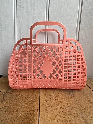 Retro Jelly Basket Peach