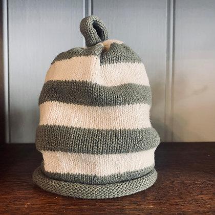 Cotton thick Stripe Hat