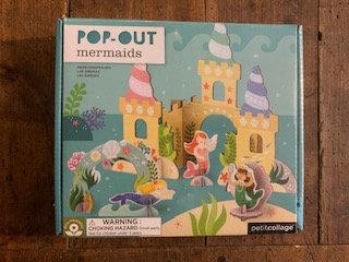Pop Out Mermaids