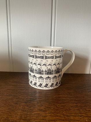 Brighton Row Mug