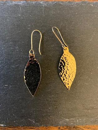 Gold Leaf Earrings