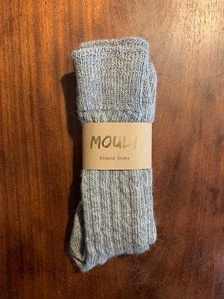 Grey Bed Socks