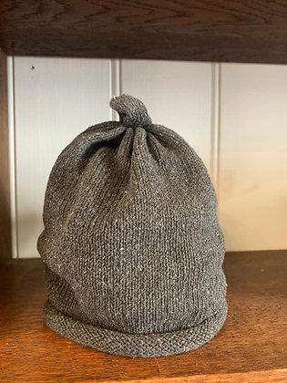 Grey Cotton Hat