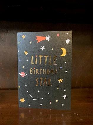 Little Birthday Star