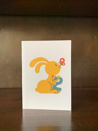 Bunny 2 Card