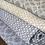 Thumbnail: Taupe Hash Fine Wool Throw