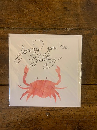 Sorry You're Feeling Crabby