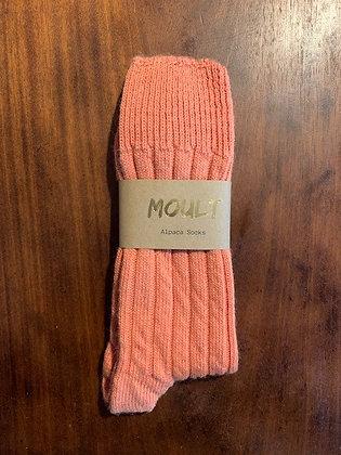 Orange Bed Socks