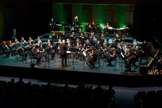 The Western Australian Wind Symphony, Conductor Sam Parry