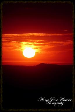 Belah Sun Woman - sunrise