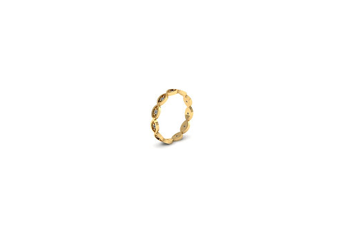 18ct Yellow Gold Band Ring