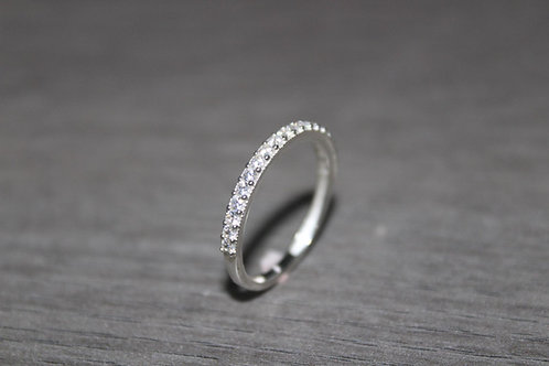 925 Sterling Sliver Eternity Band Ring