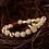 Thumbnail: Men's Luxury Gold Crown Bracelet 8MM