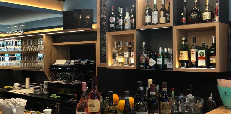 particolare banco bar