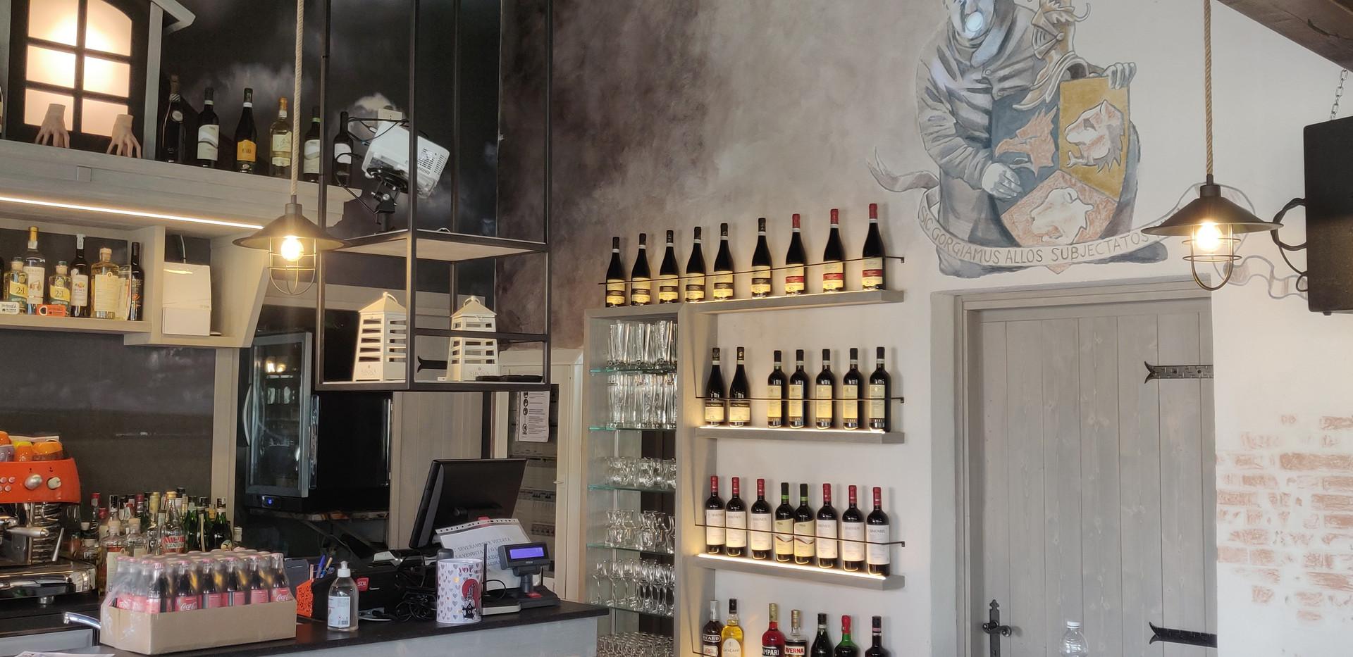 Parete Banco Bar