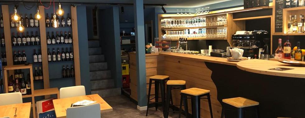 sala bar e vendita vini