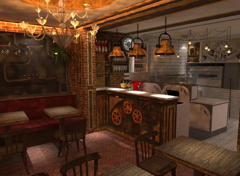Pizzeria Steampunk