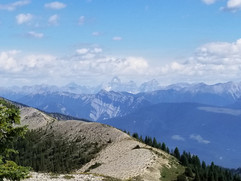 Mt. Assiniboine from Pedley Pass