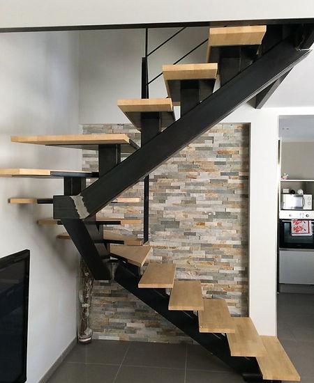 Escaliers métalliques par RC Métallerie