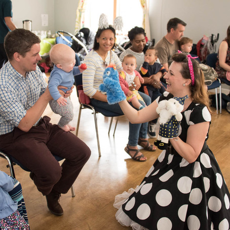 Kids love puppets!