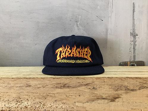 Thrasher / fire logo
