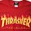 Thumbnail: Thrasher / flame logo red